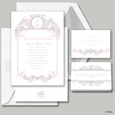 Fairy Tale Filigree Invitation - Aurora