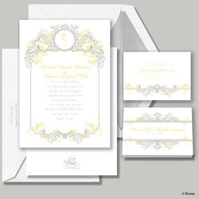 Fairy Tale Filigree Invitation - Belle