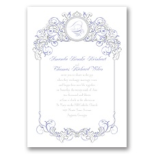 Fairy Tale Filigree Invitation - Jasmine
