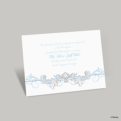 Fairy Tale Filigree Reception Card