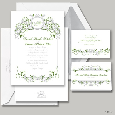 Fairy Tale Filigree Invitation - Tiana