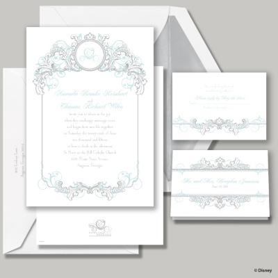 Fairy Tale Filigree Invitation