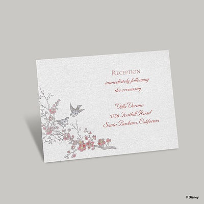 The Fairest Reception Card - Snow White