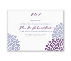 It Takes Two - Color Choice - Reception Card
