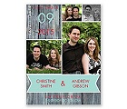 Rustic Banner - Cherry - Save the Date Card