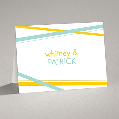Diamond Delight - Aqua - Note Card and Envelope