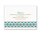 Southwest Flair - Reception Card
