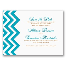 Southwest Flair - Save the Date Card