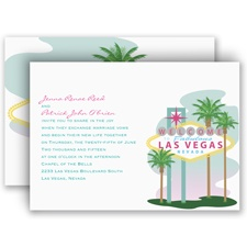 Fabulous Las Vegas - Invitation