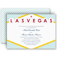 Loving Las Vegas - Invitation