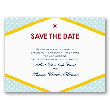 Loving Las Vegas - Save the Date Card