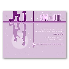Reflection - Grapevine - Save the Date Card