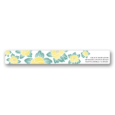 Blooming Beauty - Citrus - Address Label