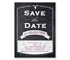 Old School - Save the Date Card