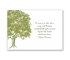 Love Naturally - Reception Card