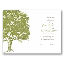 Love Naturally - Save the Date Card