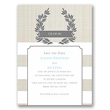 Yours Truly - Save the Date Card