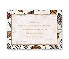 Carved in Love - Terra Cotta - Reception Card