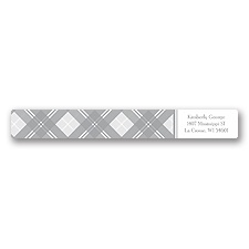 Highland Plaid - Address Label