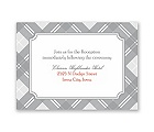 Highland Plaid - Reception Card