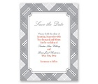 Highland Plaid - Save the Date Card
