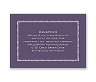 Vintage Silhouettes - Reception Card