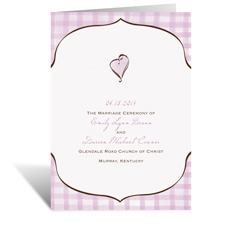 Gingham Lanterns - Program