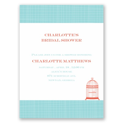 Devotion - Bridal Shower Invitation