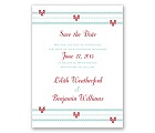 Cross My Heart - Save the Date Card