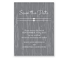 Rustic Romance - Save the Date Card