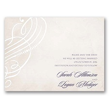 Legacy of Love - Save the Date Card