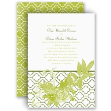 Rustic Roses - Invitation