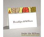 Rustic Leaves - Limelight - Thank You Card and Envelope