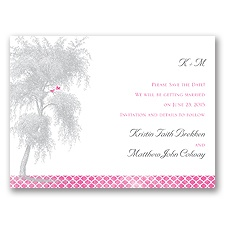 Expression of Love - Save the Date Card