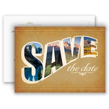 Sierra Splendor - Save the Date Postcard