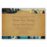 Sierra Splendor - Invitation