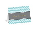 So Chevron - Note Card and Envelope