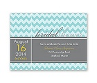 So Chevron - Bridal Shower Invitation