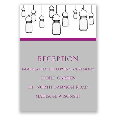 Illumination - Reception Card