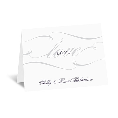 Love Never Fails - Note Card and Envelope