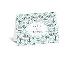 Damask Cross - Note Card and Envelope