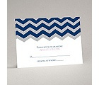 Chevron Style - Response Card and Envelope