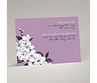 Dainty Blossoms - Lavender - Reception Card