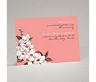 Dainty Blossoms - Melon - Reception Card