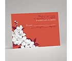Dainty Blossoms - Tango - Response Card and Envelope