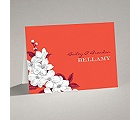 Dainty Blossoms - Tango - Note Card and Envelope