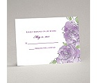 Artistic Roses - Response Card and Envelope