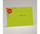 Floral Fiesta - Response Card and Envelope