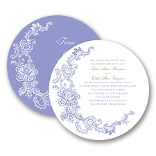 Loving Lace - Invitation
