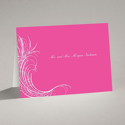 Artistic Flourishes - Note Card and Envelope